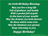 Happy Birthday Irish Quotes Popular Birthday Quotes Quotesgram