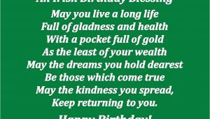 Happy Birthday Irish Quotes Popular Birthday Quotes Quotesgram
