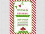 Happy Birthday Jesus Party Invitations Happy Birthday Jesus Printable Invitation by