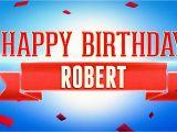 Happy Birthday Ka Banner Happy Birthday Robert Youtube