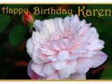 Happy Birthday Karen Banner Happy Birthday Karen Trixietx