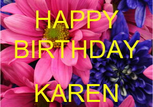Happy Birthday Karen Banner Pin Memes Happy Birthday Memebase 61 Kootationcom Cake On