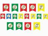 Happy Birthday Lego Banner Printable Lego Banner Colorful Magical Printable