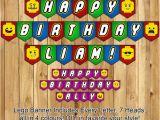 Happy Birthday Lego Banner Printable Lego Birthday Banner Lego Banner Download Instbirthday