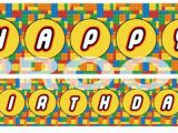 Happy Birthday Lego Font Banner Frontpage Tagged Quot Banners Quot Brickpartiesrus