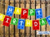 Happy Birthday Lego Font Banner Two Magical Moms Free Lego Blocks Happy Birthday Banner