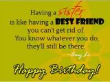 Happy Birthday Like A Sister Quotes Having A Sister is Like Having A Best Friend Happy