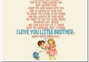 Happy Birthday Lil Brother Quotes Little Brother Birthday Quotes