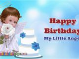 Happy Birthday Little Angel Quotes Happy Birthday Angel Cake Images Pictures