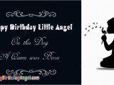 Happy Birthday Little Angel Quotes Happy Birthday Little Angel Images