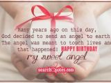 Happy Birthday Little Angel Quotes Heart touching Birthday Wishes for Girlfriend On Pinterest