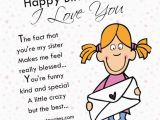 Happy Birthday Little Sister Funny Quotes Happy Birthday Sis I Love You Pictures Photos and