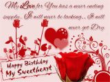 Happy Birthday Love Cards for Her Lovely and Beautiful Birthday Wishes to Make Your
