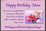 Happy Birthday Mama Quotes From Daughter Happy Birthday Mom Quotes From son and Daughter Image
