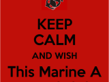 Happy Birthday Marine Cards Keep Calm and Wish This Marine A Happy Birthday Poster