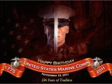Happy Birthday Marine Cards Marine Corps Birthday First In