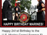 Happy Birthday Marine Cards Srd St Ine C Happy Birthday Marines Happy 241st Birthday