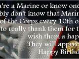Happy Birthday Marines Quote Happy Birthday Marine Corps Quotes Quotesgram