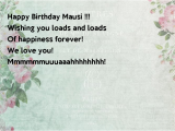 Happy Birthday Mausi Quotes Happy Birthday Mausi Wishing You Loads and Loads Of