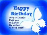 Happy Birthday May God Bless You Quotes 46 Birthday Wishes for Blessing