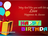 Happy Birthday May God Bless You Quotes Birthday Cards May God Bless You with Lots Of Love