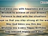Happy Birthday May God Bless You Quotes Christian Birthday Quotes
