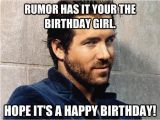 Happy Birthday Meme Funny Girl 20 Happy Birthday Girl Memes Sayingimages Com