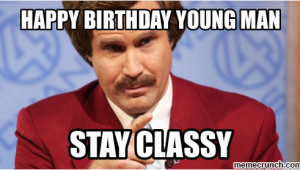 Happy Birthday Memes for Men Happy Birthday Young Man