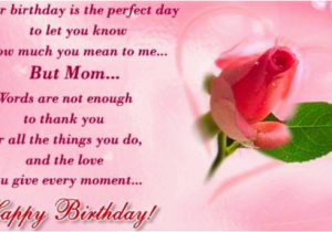 Happy Birthday Mom Card Messages Cards For Wishes Greeting