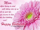 Happy Birthday Mom Card Messages Birthday Wishes for Mother 365greetings Com