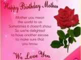 Happy Birthday Mom Card Messages Birthday Wishes for Mother Page 3