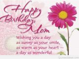 Happy Birthday Mom Quotes Wallpapers Best Cute Happy Birthday Messages Cards Wallpapers