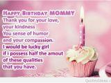Happy Birthday Mommy Quotes top Happy Birthday Mom Quotes