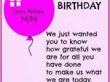 Happy Birthday Mother Quotes From son Happy Birthday Mom Quotes and Wishes