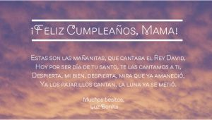 Happy Birthday Mother Quotes In Spanish How to Say Wishes for Happy Birthday In Spanish song