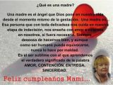 Happy Birthday Mother Quotes In Spanish Mother Birthday Quotes In Spanish Quotesgram