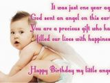 Happy Birthday My First Born son Quotes My First Born Quotes Quotesgram