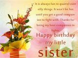 Happy Birthday My Little Sister Quotes Happy Birthday My Little Sister Pictures Photos and
