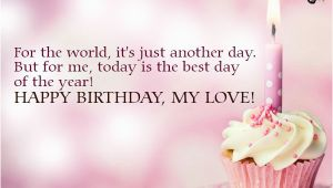 Happy Birthday My Love Quotes for Him Happy Birthday My Love Quotes Quotesgram