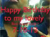 Happy Birthday My Lovely Friend Quotes Keep Calm Birthday Quotes Happy Brooke Quotesgram