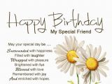 Happy Birthday My Special Friend Quotes Birthday Images for Friend Google Search Happy