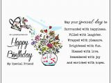 Happy Birthday My Special Friend Quotes Free Birthday Cards Happy Birthday My Special Friend