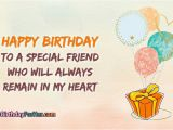 Happy Birthday My Special Friend Quotes Happy Birthday for Girl Best Friend Happybirthdayforher Com