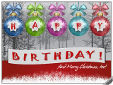 Happy Birthday On Christmas Day Cards Christmas Birthday Child Free Specials Ecards Greeting