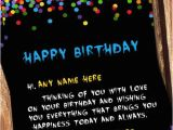 Happy Birthday Online Cards with Name Best Happy Birthday Wish Cards with Name