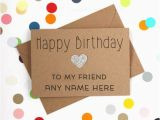 Happy Birthday Online Cards with Name Happy Birthday Cards for Friends with Name
