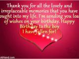 Happy Birthday Partner Quotes Happy Birthday to My Boyfriend Quotes Quotesgram
