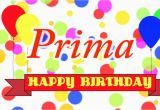 Happy Birthday Primo Quotes Happy Birthday Prima song Youtube