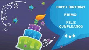 Happy Birthday Primo Quotes Primo Card Tarjeta Happy Birthday Youtube