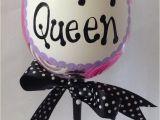 Happy Birthday Queen Banner Birthday Queen Wine Glass